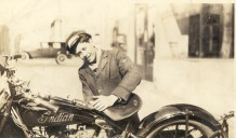 Abe's Indian motorcycle