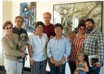1990s mom art opening