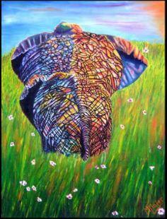 Elephant Butt