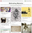 Joelle creates Pinterest pages to compliment Redwood Writers contests.
