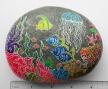 """""""Ocean Reef"""" on river rock"""